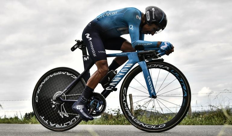 "Nairo Quintana Vuelta España: Nairo: ""La etapa de este viernes es exageradamente dura"""