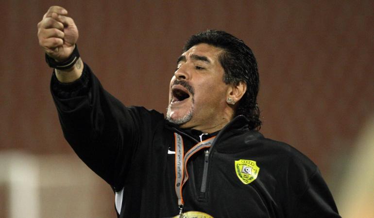 Maradona técnico: Diego Maradona es nuevo técnico de Dorados de Sinaloa