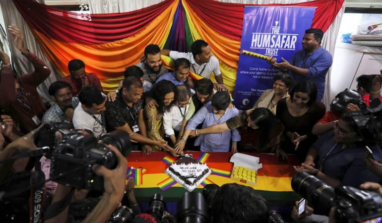 Histórica despenalización de la homosexualidad en India