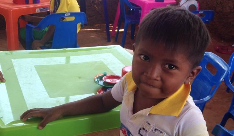Niños Wayúu.: Comunidades indígenas piden cumplir medidas para protección de niños Wayúu