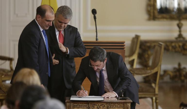 Narcotráfico Colombia y Estados Unidos: Duque: Hay que desnarcotizar relación con EE.UU. y recuperar la confianza