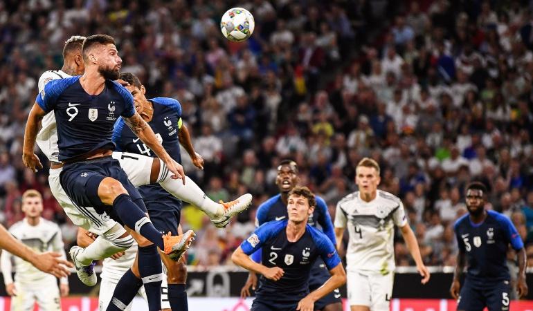 Liga de Naciones alemania francia: Alemania y Francia empataron en el primer partido de la Liga de Naciones