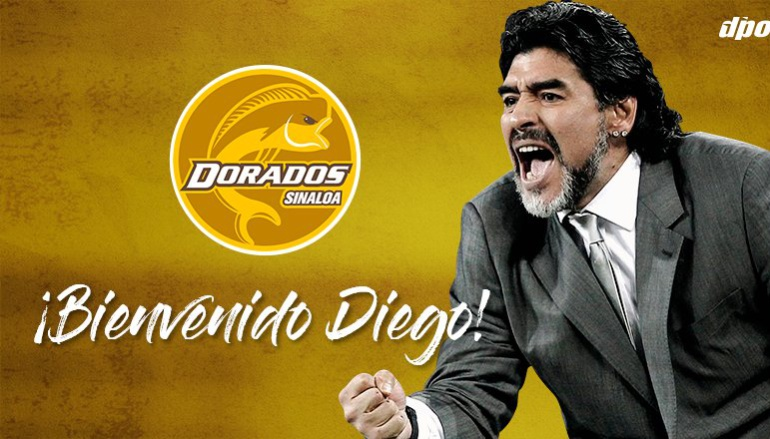 Maradona Dorados de Sinaloa: Maradona será presentado el lunes como nuevo técnico de Dorados de Sinaloa