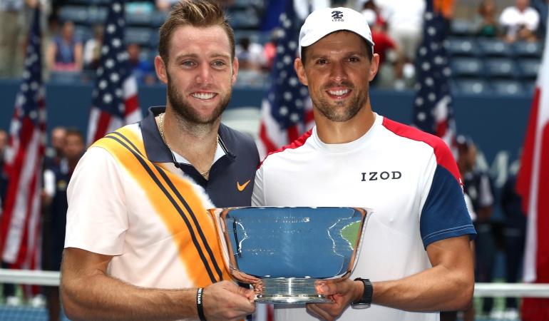 Mike Bryan y Jack Sock US Open: Mike Bryan y Jack Sock se quedaron con el título de dobles en el US Open
