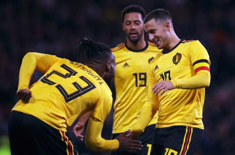 Selección Bélgica Escocia amistoso: Cátedra de fútbol: Bélgica goleó con solvencia a Escocia