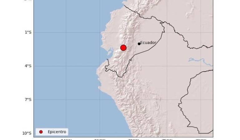 Sismo de magnitud 6,5 sacudió el país esta noche — Ecuador