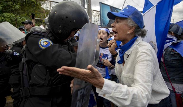 Crisis social en Nicaragua