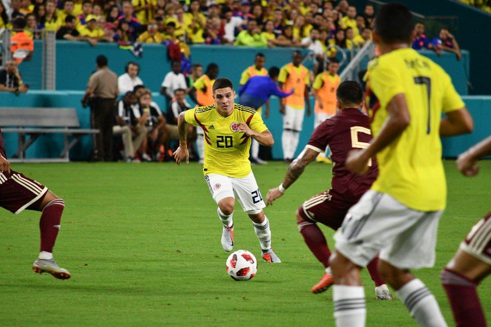 Imágenes Colombia 2-1 Venezuela: Las mejores imágenes de la victoria de Colombia ante Venezuela