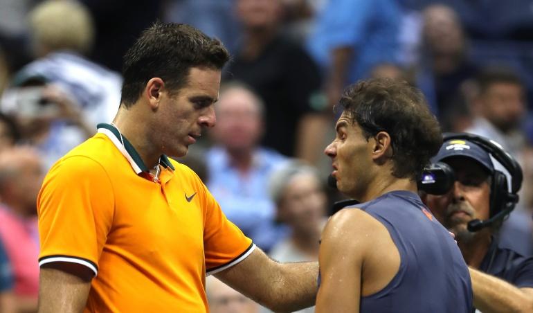 Radale Nadal Juan Martín del Potro US Open: Nadal abandona lesionado y Del Potro jugará la final del US Open