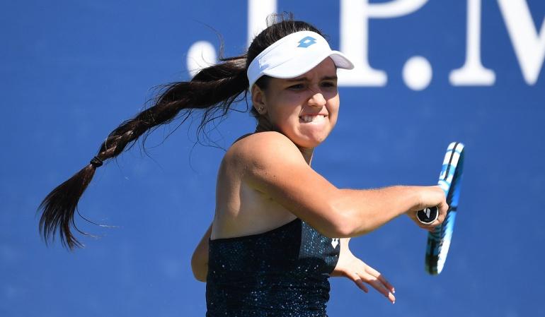 Maria Camila Osorio US Open: Maria Camila Osorio avanzó a semifinales del US Open Junior