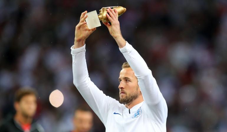Harry Kane Bota de Oro Seleccion Inglaterra Mundial de Rusia: Harry Kane, el goleador del Mundial de Rusia recibió la Bota de Oro