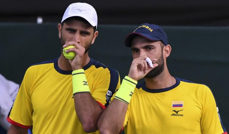 La dupla Cabal-Farah será baja ante Argentina