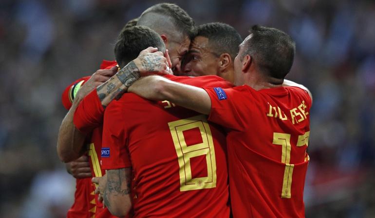 España 2-1 Inglaterra: En un gran partido España derrotó a Inglaterra en Wembley