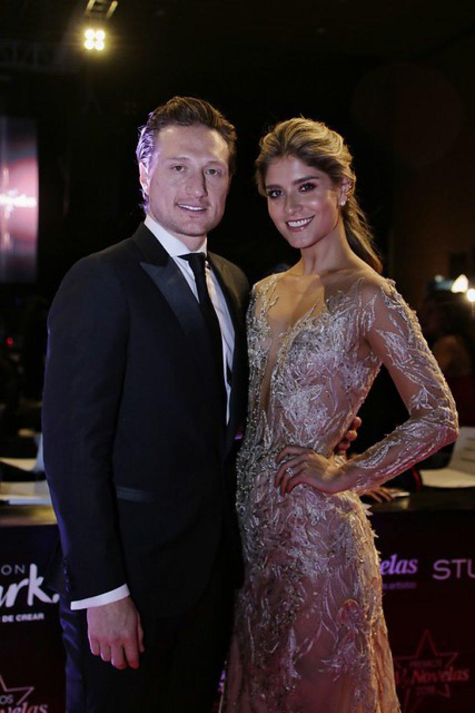 Laura Tobón y su esposo Álvaro Rodríguez.