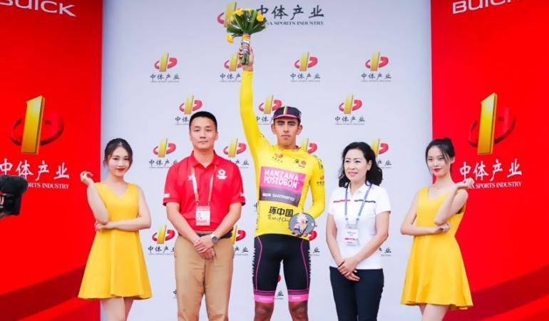 Tour de China Sebastián Molano: Sebastián Molano conquistó la segunda etapa del Tour de China I