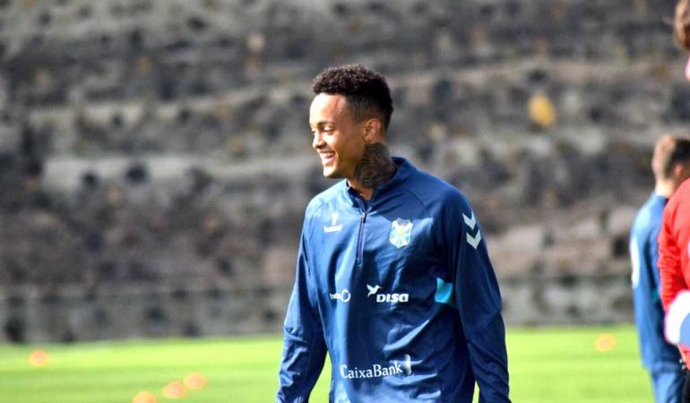 Joao Rodríguez: Joao Rodríguez sufrió lesión con el Tenerife en partido ante el Málaga