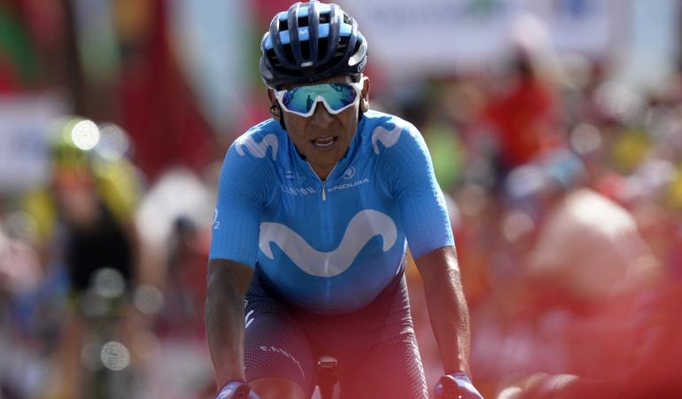 """Nairo Quintana: Nairo: """"Estamos igualados y espero hacer una buena crono el martes"""""""