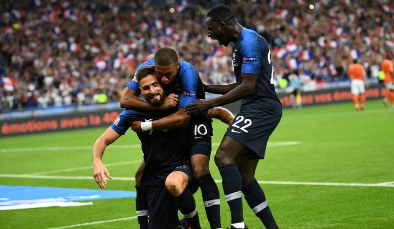 Francia 2-1 Holanda: El campeón sigue invicto y venció a Holanda por la Liga de Naciones