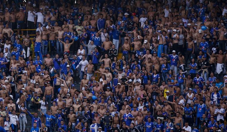 Barras Bravas Millonarios: Barras bravas de Millonarios generaron disturbios tras igualar con Junior