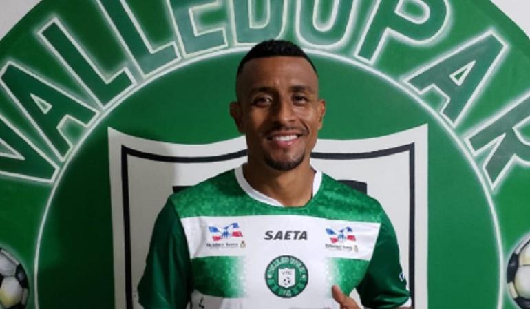 farid diaz: Oficial: Farid Díaz jugará con el Valledupar, equipo de la B