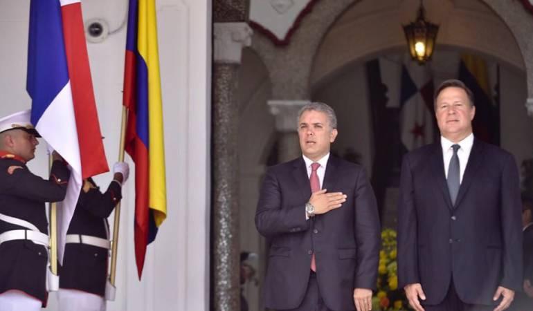 Colombia y panamá.: Seguridad e interconexión eléctrica: compromisos Duque - Varela