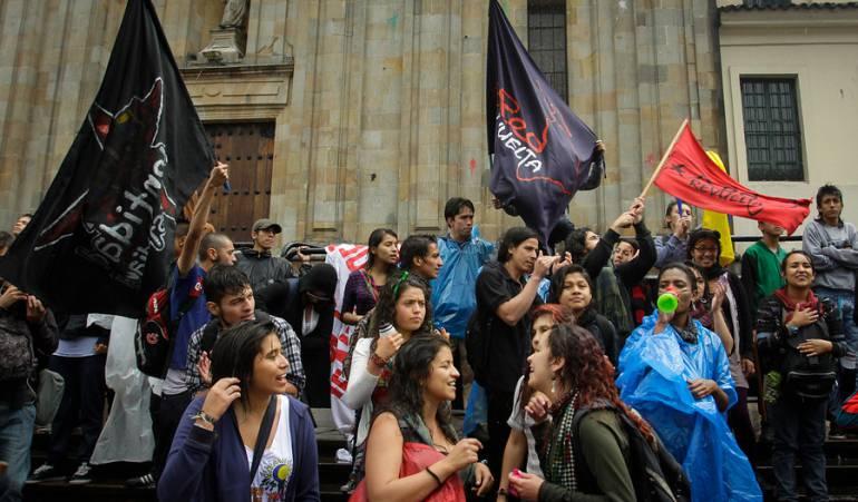 Marchas de universidades públicas