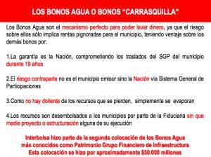"""Bonos Carrasquilla.: Hasta en Interbolsa fueron negociados los """"Bonos Carrasquilla"""""""