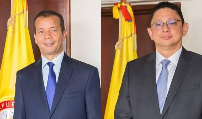 Heriberto Sanabria y Renato Contreras