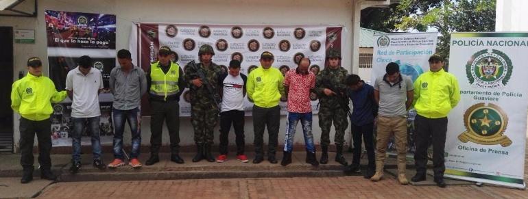 """Crimen organizado: Las autoridades propinan golpe a la banda """"Los Raspaos"""""""