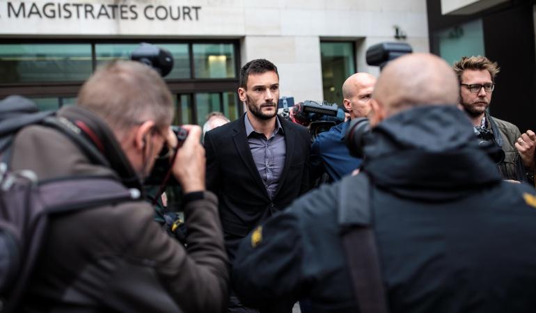 Hugo Lloris Francia: Hugo Lloris fue declarado culpable por conducir ebrio