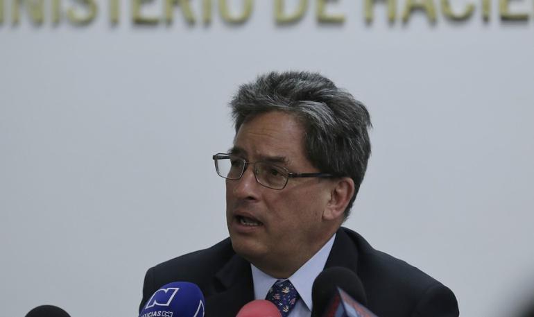 Actual ministro de Hacienda, Alberto Carrasquilla.