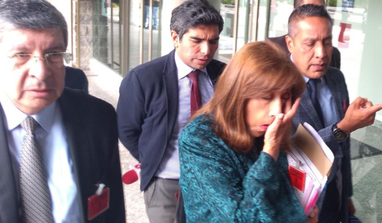 JEP: Martha Lucía Zamora: No entiendo de qué se trata esta investigación
