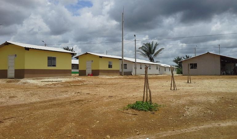 Zona veredal de Incorporación de Aguas Claras en el Caquetá.