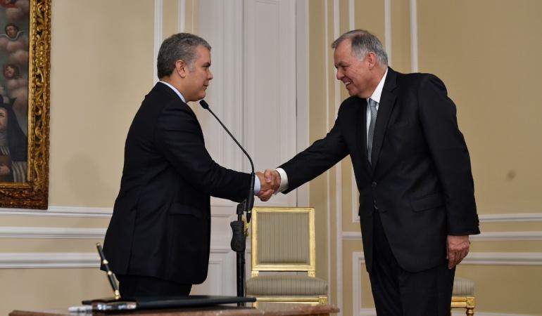 Posesión Alejando Ordoñez: Pese a polémica Duque posesionó a Ordóñez como embajador en la OEA