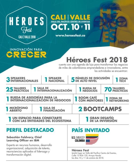 Empredimiento Colombia: Ya viene el festival de emprendimiento e innovación más importante del país