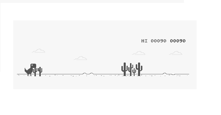 Dino Run Google: 7 datos curiosos de 'Chrome Dino Run'