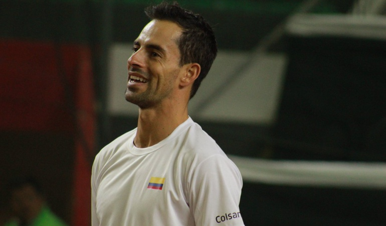 Giraldo Schwartzman Copa Davis Argentina Colombia Grupo Mundial: Giraldo abrirá la serie de Copa Davis frente a Argentina