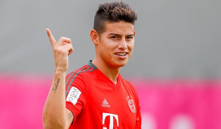 James da pasos hacia el once inicialista del Bayern contra Leverkusen
