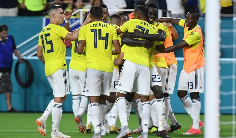 Seleccion colombia: Partidos y resultados de los jugadores de Selección en sus clubes