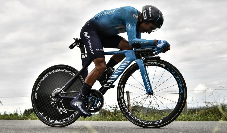 """Nairo Quintana Vuelta España: Nairo Quintana: """"Hemos gastado las fuerzas que teníamos"""""""