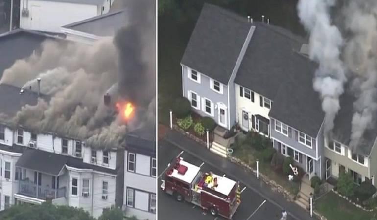 Explosiones en Massachusetts: 50 edificios afectados por una serie de explosiones de gas en EE.UU