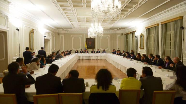 proyectos anticorrupción.: En 90% avanza acuerdo de proyectos anticorrupción entre Gobierno y partidos