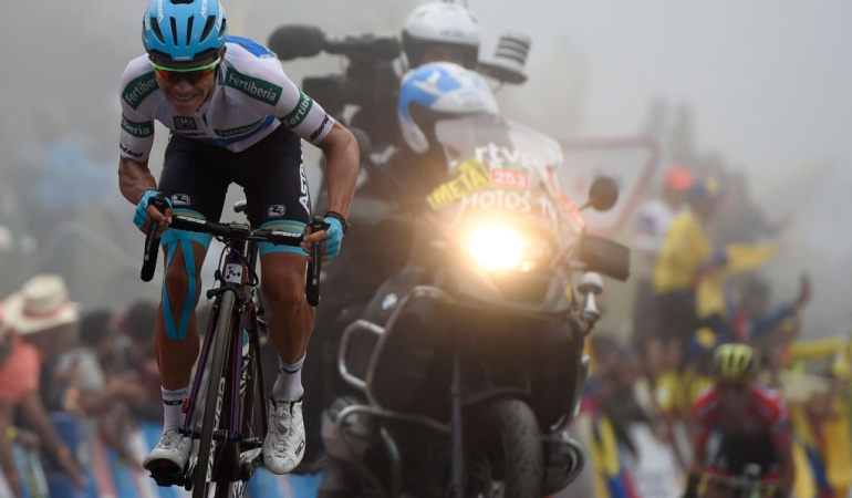 Etapa 19 Vuelta a España 2018: ¡'Supermán' voló en la montaña y es podio de la Vuelta!