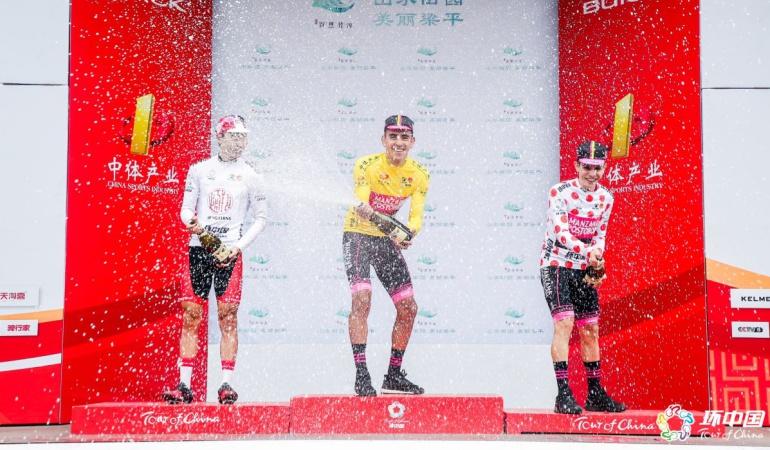 Juan Sebastián Molano Tour de China: Juan Sebastián Molano se proclamó campeón del Tour de China