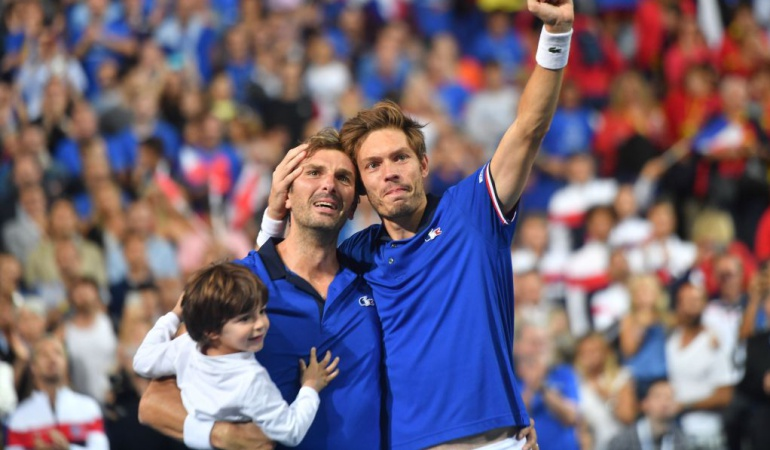 Croacia final Copa Davis: Francia triunfa en dobles sobre España y avanza a la final de la Copa Davis