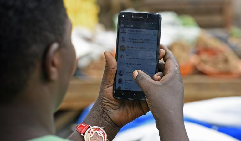 ¿Cuál es el chat de WhatsApp que más le ocupa espacio en su celular?