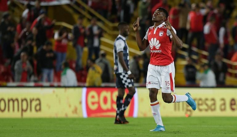 Santa Fe Boyaca Chico Liga Aguila: Santa Fe vence a Boyacá Chicó con dos goles de Héctor Urrego