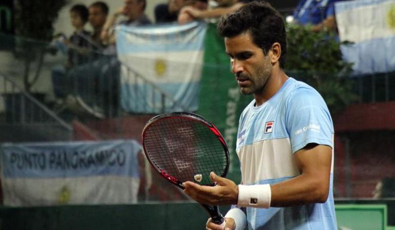 Copa Davis Zeballos Nicolás Mejía: Zeballos venció a Mejía y Argentina se quedó con la serie de Copa Davis 4-0