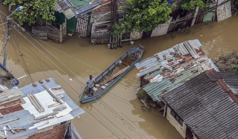 Inundaciones en Arauca: Más de 1.800 personas afectadas por inundaciones en Arauca, según la OCHA