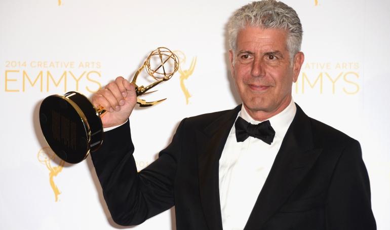 .6 premios Emmy, para Anthony Bourdain después de su muerte.